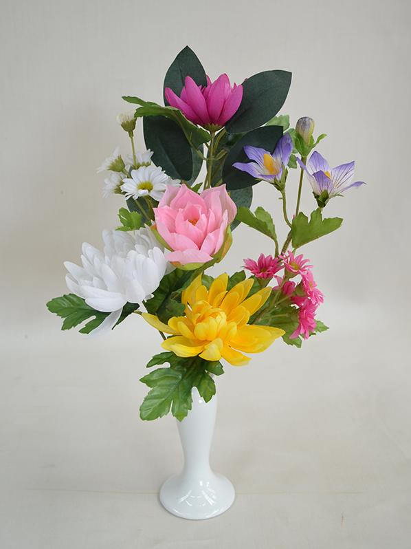 仏花 花器はついておりません フェイク 仏花です。  172 35cm 【造花専門店 岩や】