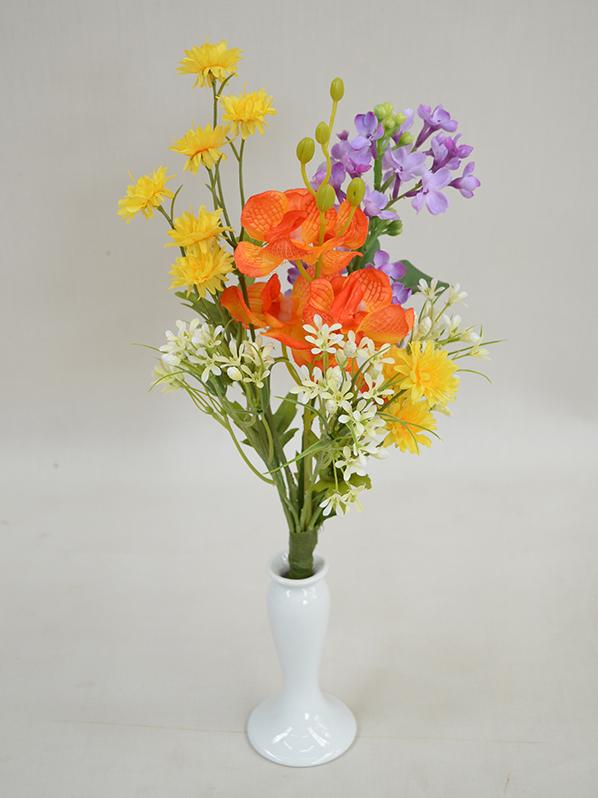 仏花 花器はついておりません フェイク 仏花です。  177 33cm 【造花専門店 岩や】